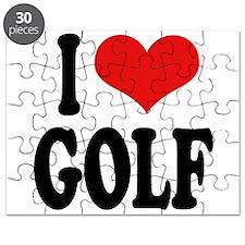 I Love Golf Puzzle