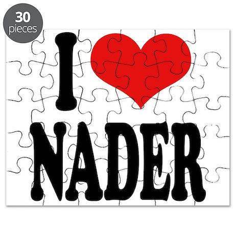 I Love Nader Puzzle