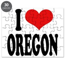 I Love Oregon Puzzle