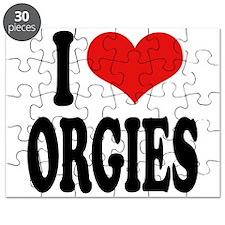 I Love Orgies Puzzle
