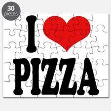I Love Pizza (word) Puzzle