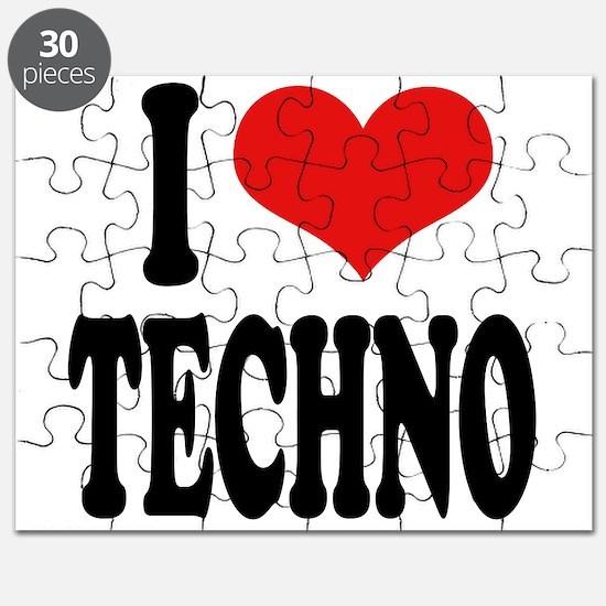 I Love Techno Puzzle