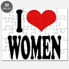 I Love Women Puzzle