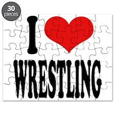 I Love Wrestling Puzzle