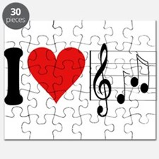 I Love Music (design) Puzzle