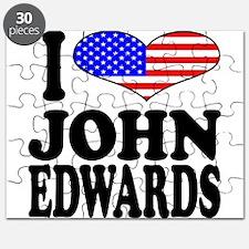 I Love John Edwards Puzzle