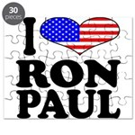 I Love Ron Paul Puzzle