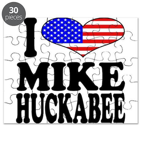 I Love Mike Huckabee Puzzle