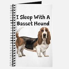 I Sleep With A Basset Hound Journal