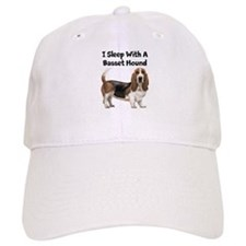 I Sleep With A Basset Hound Baseball Cap