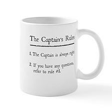 Captain's Rules Small Mug