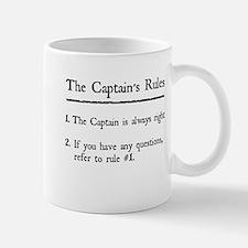 Captain's Rules Small Small Mug