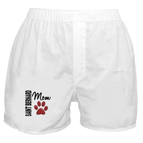 Saint Bernard Mom 2 Boxer Shorts