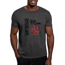 Saint Bernard Mom 2 T-Shirt