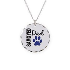 Samoyed Dad 2 Necklace