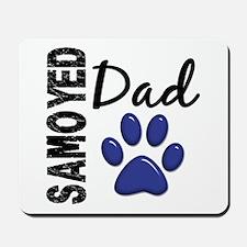 Samoyed Dad 2 Mousepad