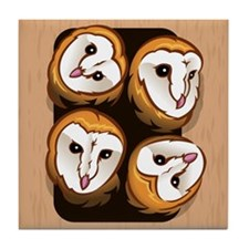Design 3: The Owlets Tile Coaster