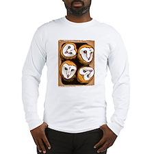 Design 3: The Owlets Long Sleeve T-Shirt
