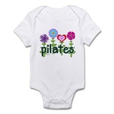 Pilates Garden by Svelte.biz Infant Bodysuit