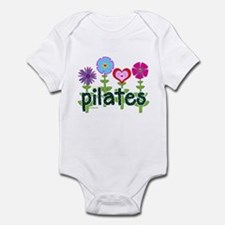 Pilates Garden by Svelte.biz Infant Bodysuit