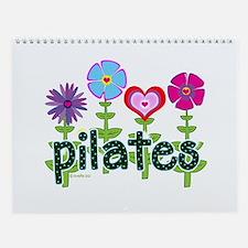 Pilates Garden by Svelte.biz Wall Calendar