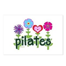 Pilates Garden by Svelte.biz Postcards (Package of