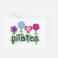 Pilates Garden by Svelte.biz Greeting Card