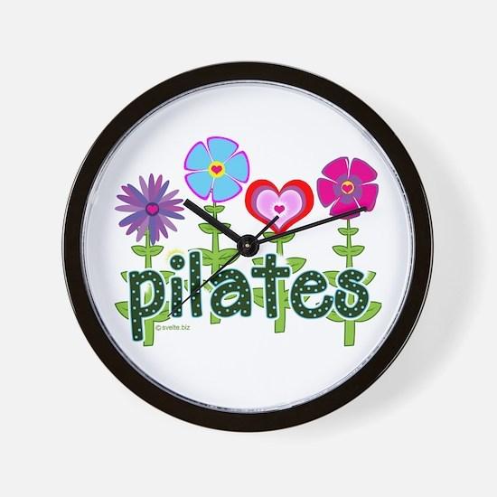 Pilates Garden by Svelte.biz Wall Clock