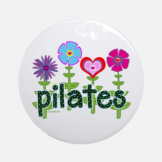 Pilates Garden by Svelte.biz Ornament (Round)