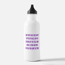 Slinky People Water Bottle