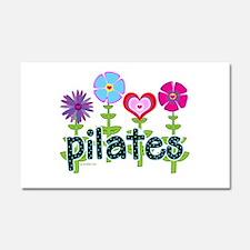 Cute Pilates Car Magnet 20 x 12
