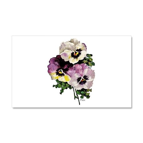 Pansy Car Magnet 20 x 12