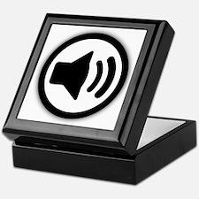Audio Speaker Keepsake Box
