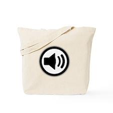 Audio Speaker Tote Bag