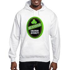 Ireland Beer Label 3 Hoodie Sweatshirt