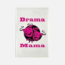 Drama Mama Rectangle Magnet