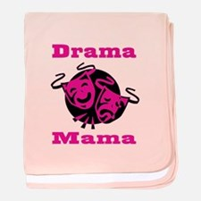 Drama Mama baby blanket