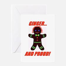 Ginger Pride Greeting Card