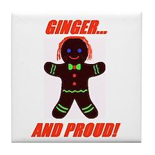 Ginger Pride Tile Coaster