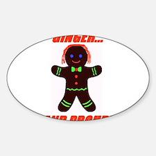 Ginger Pride Sticker (Oval)