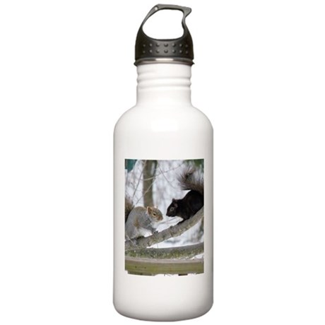 Black Squirrel Stainless Water Bottle 1.0L