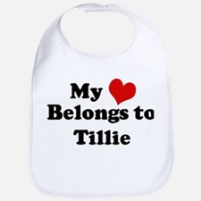 My Heart: Tillie Bib