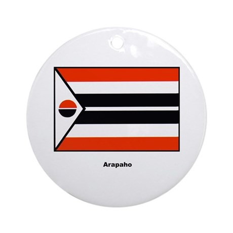 Arapaho Native American Flag Ornament (Round)
