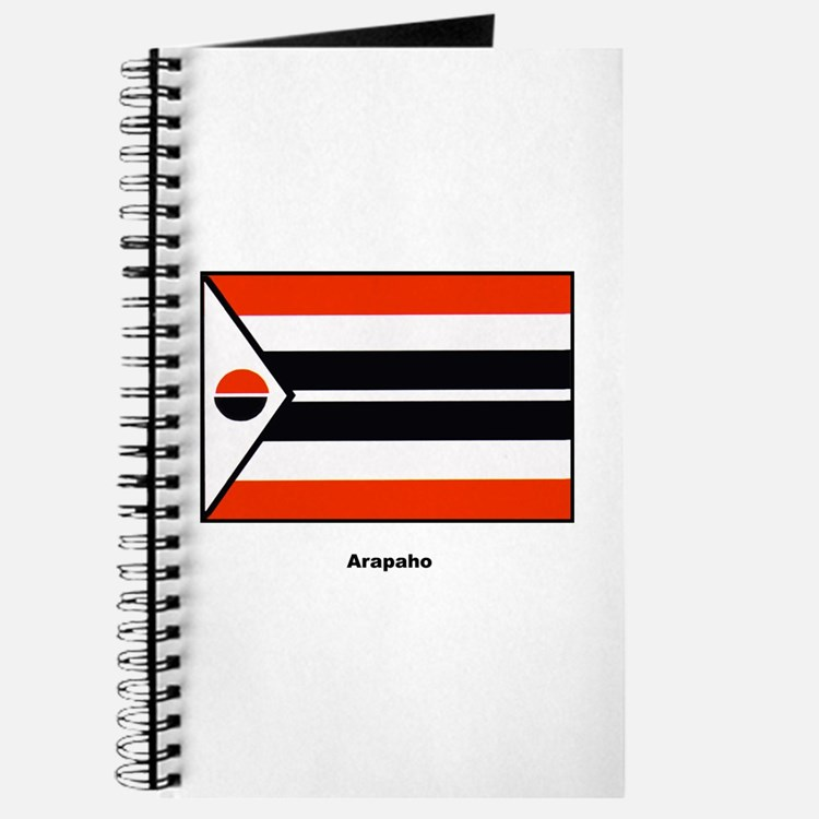 Arapaho Native American Flag Journal