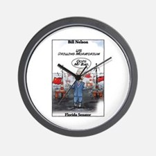"""""""Chinese Drilling 2"""" Wall Clock"""