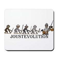 JoustEvolution Monkeys Mousepad