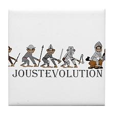 JoustEvolution Monkeys Tile Coaster