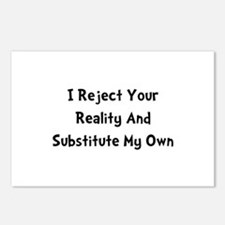 Reject Your Reality Postcards (Package of 8)