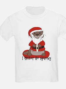 Funny Otter illustration T-Shirt
