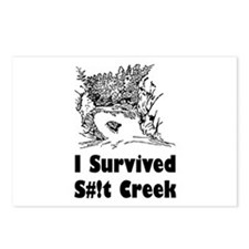Shit Creek Postcards (Package of 8)